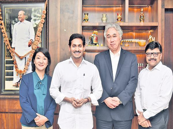 Japan Consul General Meeting with CM YS Jagan - Sakshi