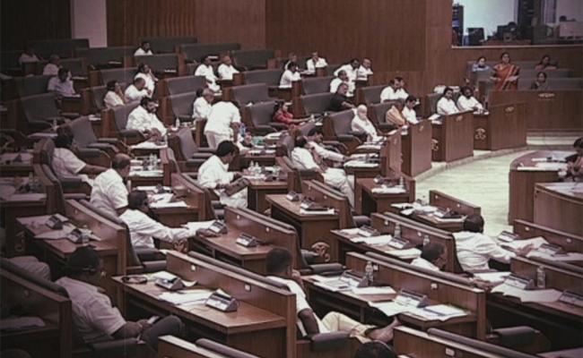 Andhra Pradesh Assembly Adjourned - Sakshi