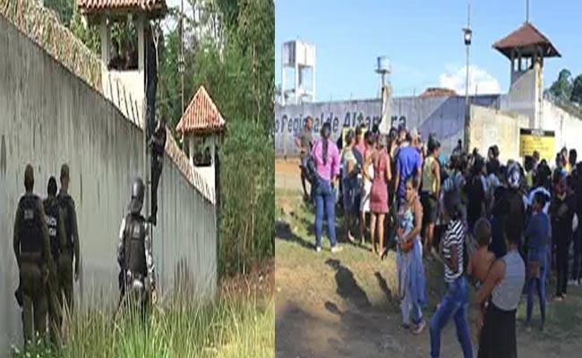 57 Killed In Brazil Prison Gang War Several Beheaded - Sakshi
