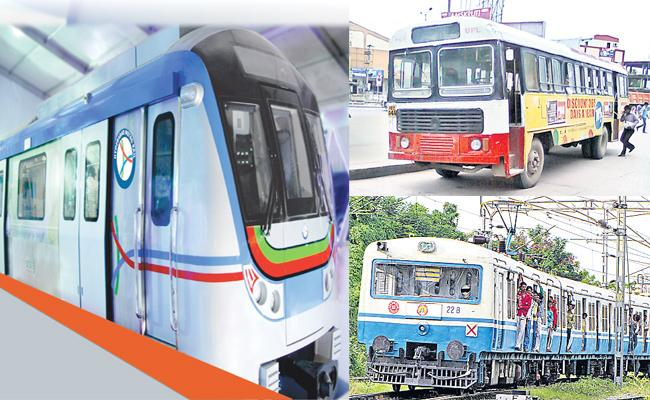 Hyderabad Metro MMTS And RTC Cambo Project Delayed - Sakshi