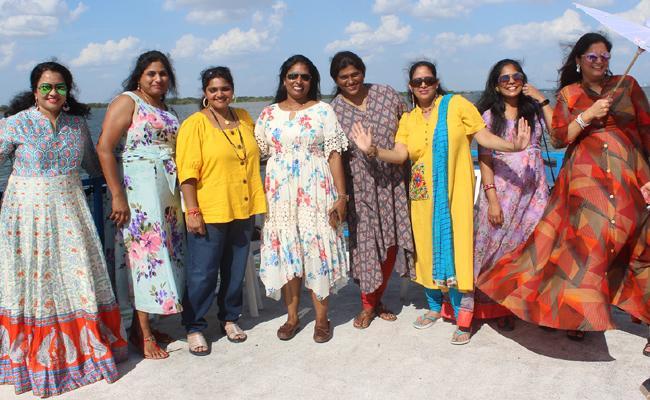 Tantext Organisation Boating Celebrations In Texas - Sakshi