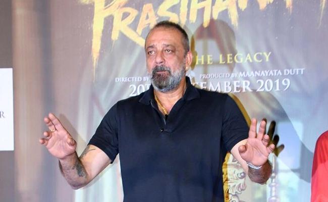 Sanjay Dutt Gets Legal Notice on Prasthanam Remake - Sakshi