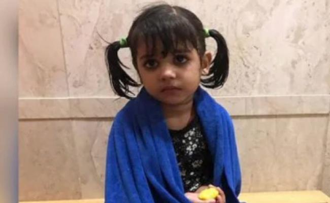 Lost 3 Year Old Reunited With Family Within A Day - Sakshi