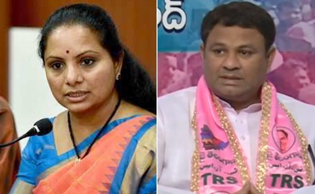 Former MP Kavitha And MLA Ganesh Gupta At Induru - Sakshi
