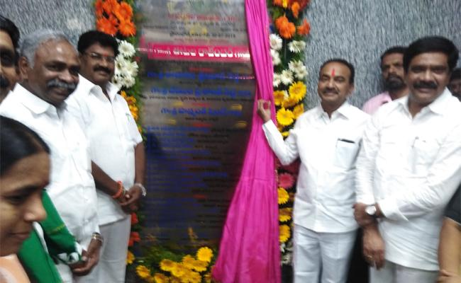 Health Minister Inaugurates New Hospital In Nizamabad - Sakshi