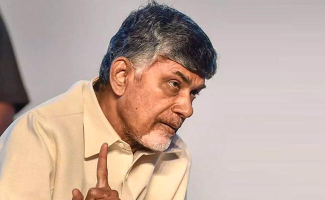 Chandrababu Naidu Gets Emotional Over TDP Defeat  - Sakshi