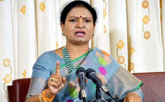 DK Aruna Slams Rahul Gandhi - Sakshi