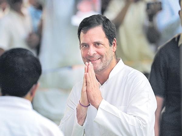 Rahul Gandhi says about liability for defeat in a four page open letter - Sakshi