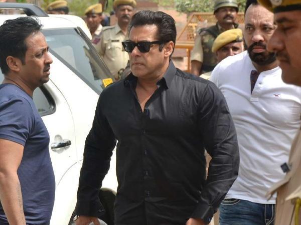 Jodhpur court Warns Salman Khan - Sakshi