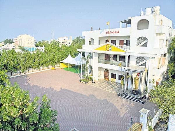TDP state office building which is not on the municipal records - Sakshi
