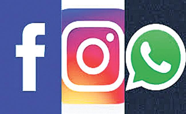 Whatsapp And Facebook Stands Tall - Sakshi