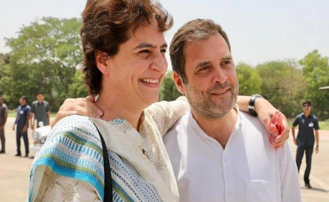Priyanka Gandhi Lauded Rahul Gandhi Decision Over Resignation - Sakshi