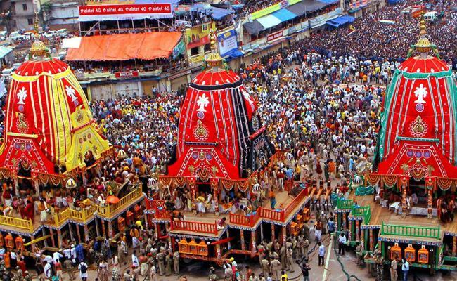 Celebrations begin at Jagannath temple in Puri ahead of Jagannath Rath Yatra - Sakshi