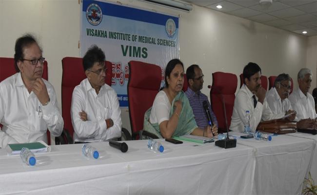 Steps To Develop The Vishakha Institute Of Medical Sciences (VIMS) - Sakshi