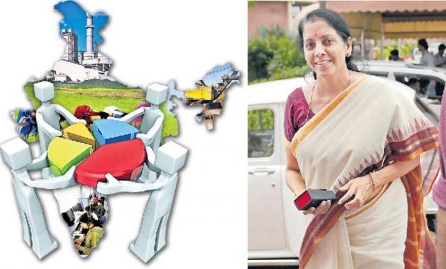 Finance Minister Nirmala Sitharaman to present maiden Budget - Sakshi