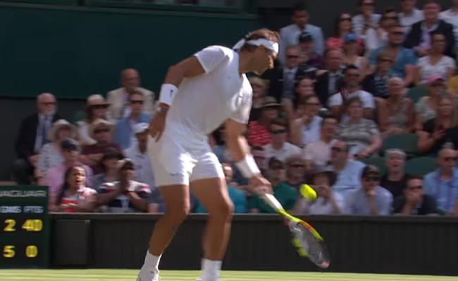 Nick Kyrgios Underarm Serve Leaves Rafael Nadal - Sakshi