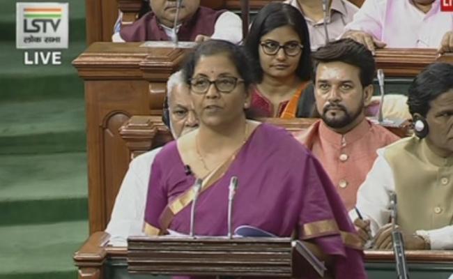Nirmala Sitaraman Clarifies Over Fdi In Media - Sakshi