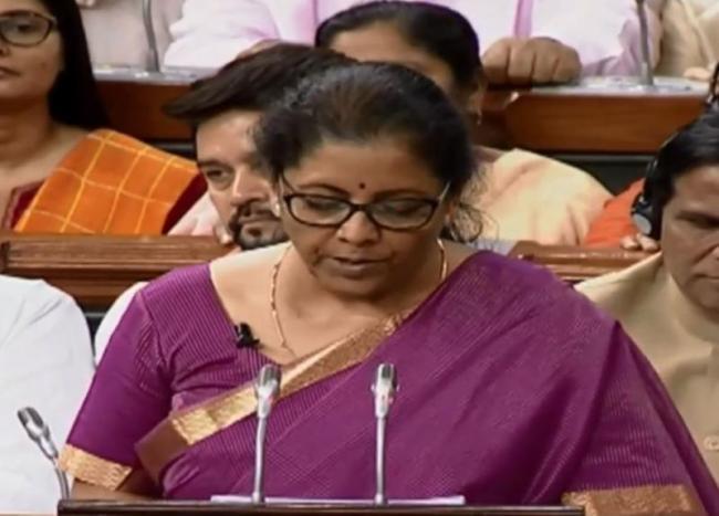 Nirmala Sitharaman Presents 1st Budget Of Modi 2.0 Government - Sakshi