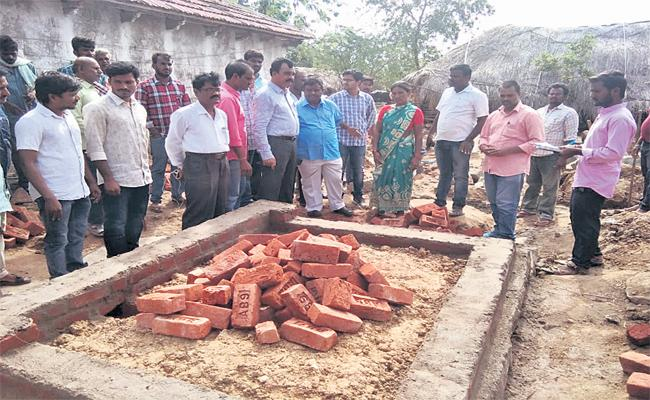 Government Linked Welfare Schemes With Toilet Construction  - Sakshi