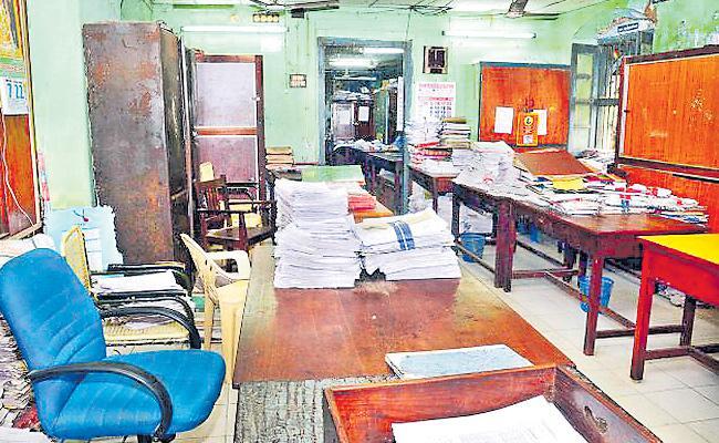 Transfers Postpone In Revenue Department - Sakshi