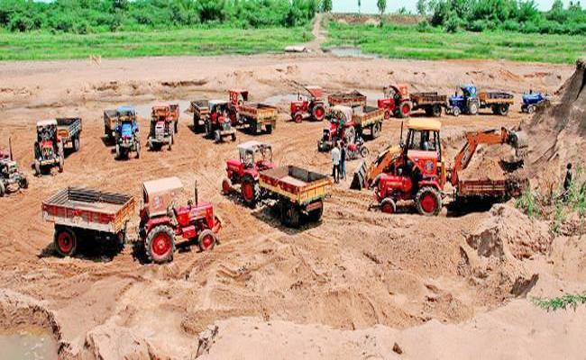 AP Govt Likely To Unveil New Sand Policy On July 5th - Sakshi