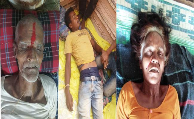 3 People Died with Electric Shock In Karimnagar - Sakshi