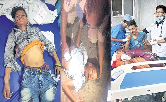 Minor Boys Died in Robbed Bike Accident in Hyderabad - Sakshi