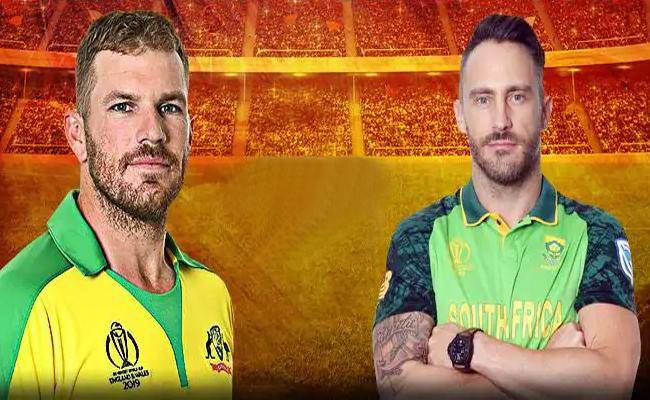 South Africa Won The Toss Elected To Bat First Against Australia - Sakshi