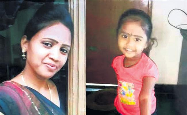 Mother And Girl Child Commits Suicide in Hyderabad - Sakshi