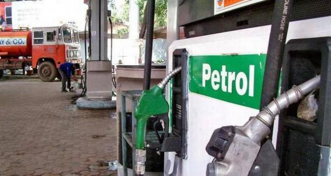 Petrol, diesel prices shoot up by over Rs 2 after cess hike in Budget - Sakshi
