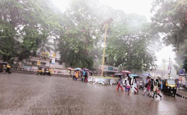 monsoon rains in coastal Andhra pradesh - Sakshi
