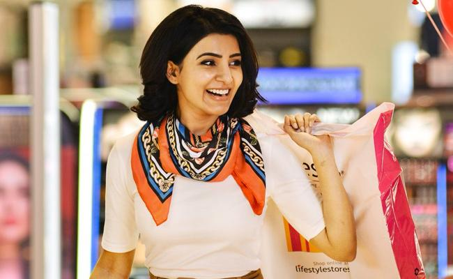 Samantha Watched Oh Baby Movie Secretly In Devi Theatre - Sakshi