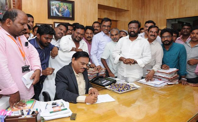 Bairagi Reddy Appointed As AU Registrar - Sakshi