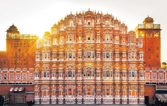Pink City Jaipur gets UNESCO World Heritage status - Sakshi