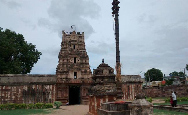 Sowmyanatha Temple Bramhostavam  Kadapa - Sakshi