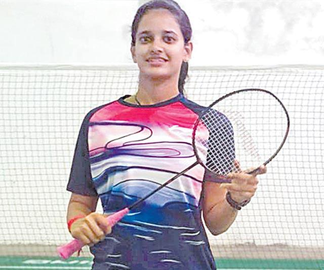 Shuttler Krishna Priya storms into final - Sakshi