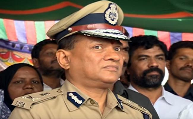 Telangana Government transfers DG prisons V K Singh - Sakshi