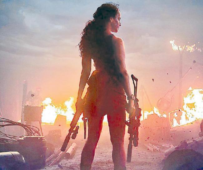 Kangana Ranaut new film Dhaakad First launch - Sakshi