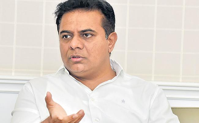 Nirmala Sitharam Very Disappointed On Budget Says KTR - Sakshi