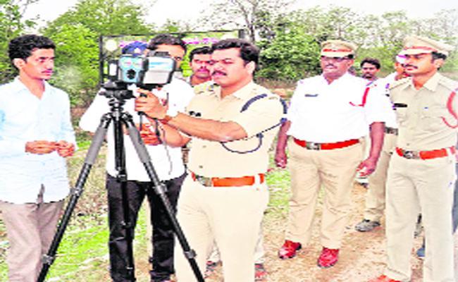 Police Strategies To Prevent Accidents In Adilabad - Sakshi