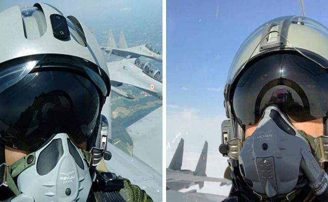 India France  Aerobatics Rehearsals: Rafale Fighter Jet Shows Amazing Skills  - Sakshi