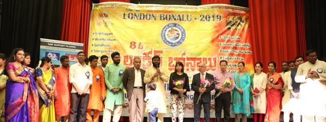 TeNF conducts Bonalu in London - Sakshi