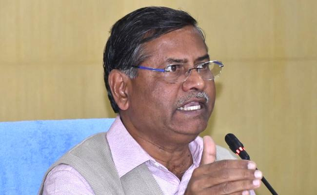 TS Election Commissioner Nagi Reddy Meeting With Parties And Officials - Sakshi