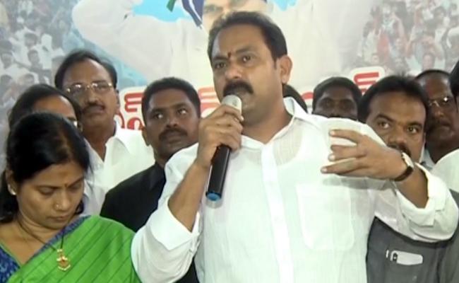 Alla Nani Criticize Chandrababu Naidu - Sakshi