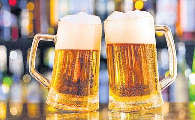Beer Sales Hikes in Hyderabad - Sakshi