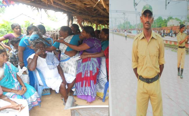 CRPF Commander Commits Suicide In West Godavari - Sakshi