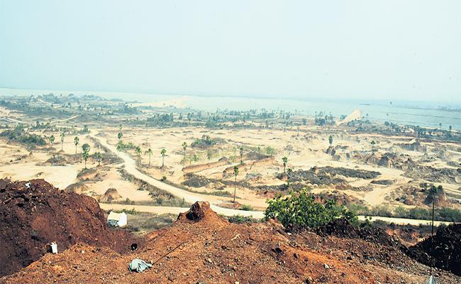 Construction Of Reservoir Provides Funds To The Forest Department In Medak District - Sakshi