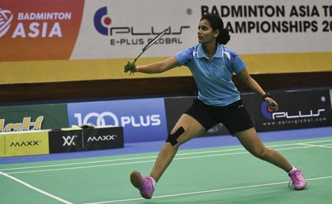 Krishna Priya Goes Down Fighting in Final - Sakshi