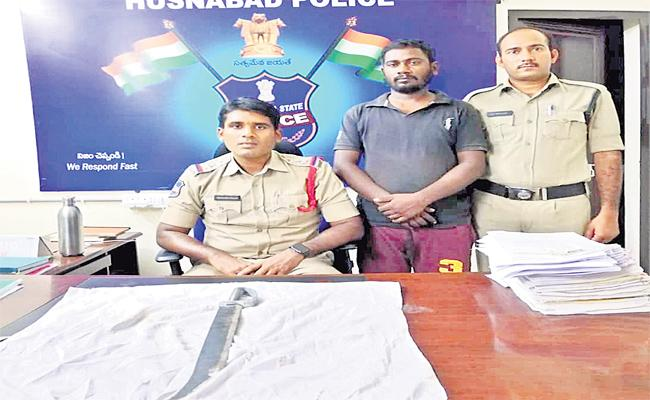 Medak Police Arrested The Man Who Is Accused Of Non Bailable Warrant - Sakshi