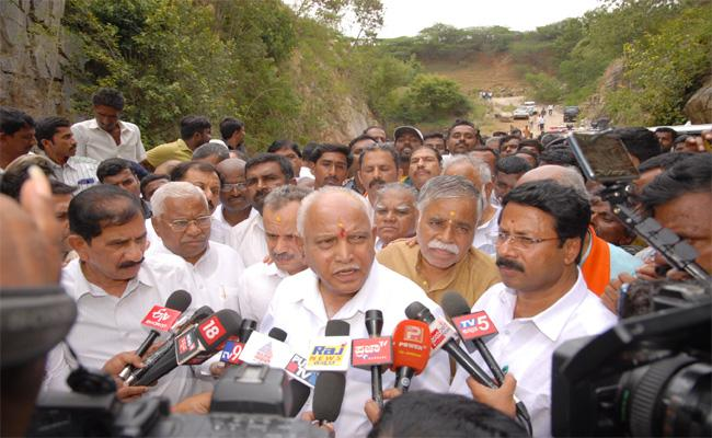 Yeddyurappa Comments on Karnataka Political Situation - Sakshi